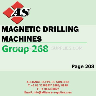 Magnetic Drilling Machines (Group 268)