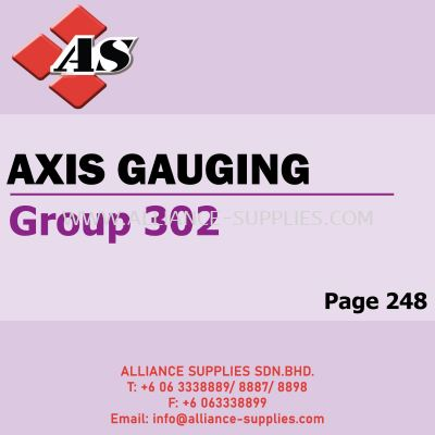Axis Gauging (Group 302)