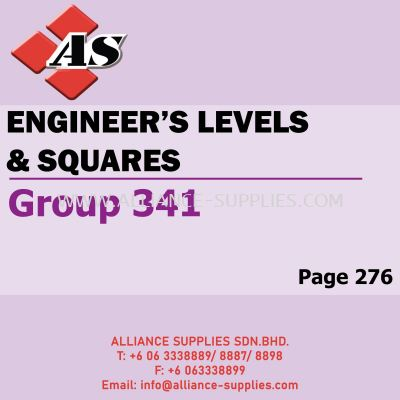 Engineer's Levels & Squares (Group 341)