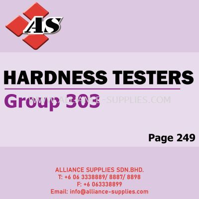 Hardness Testers (Group 303)