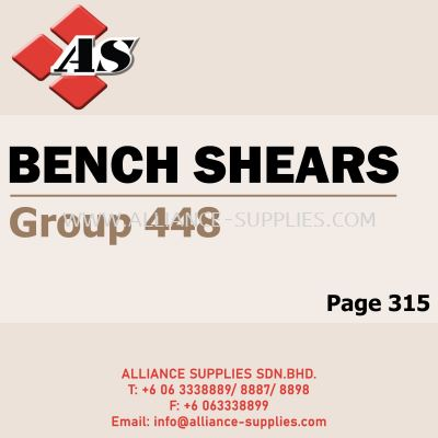 Bench Shears (Group 448)