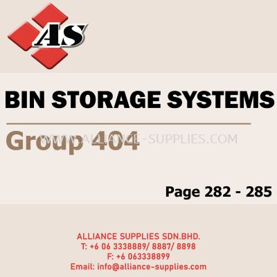 Bin Storage Systems (Group 404)