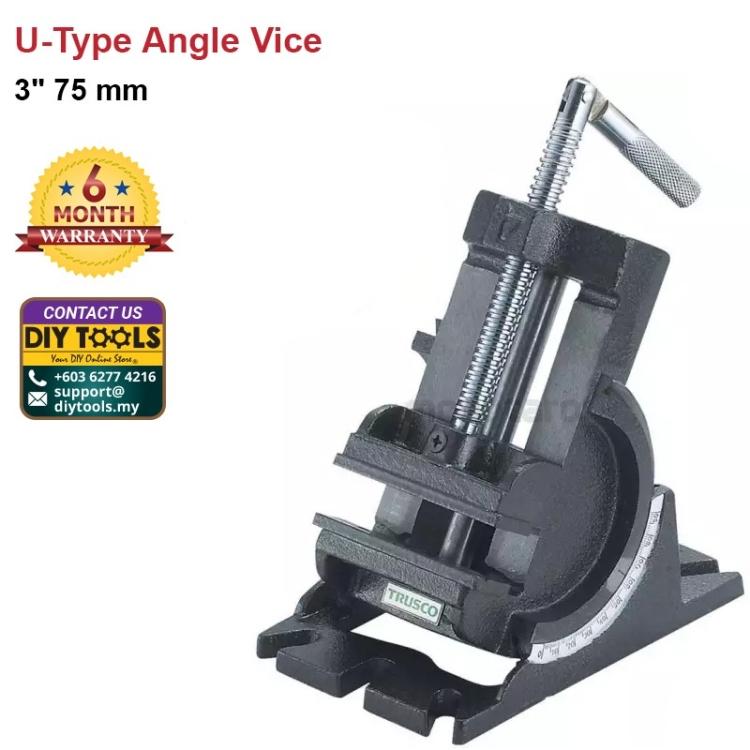 "3"" 75 mm U-Type Angle Vice"