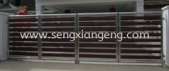 Stainless Steel Folding Main Gate Stainless Steel Gate