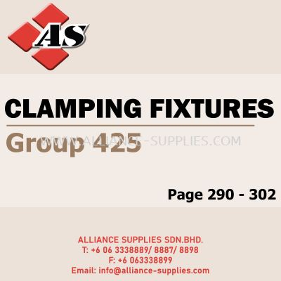 Clamping Fixtures (Group 425)