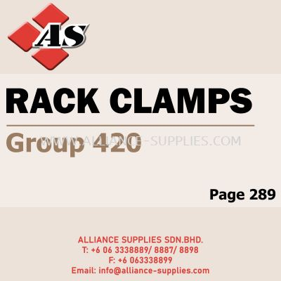 Rack Clamps (Group 420)