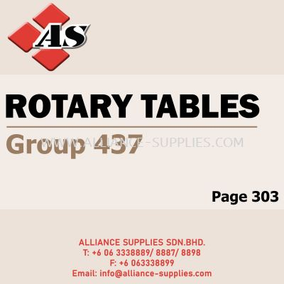 Rotary Tables (Group 437)