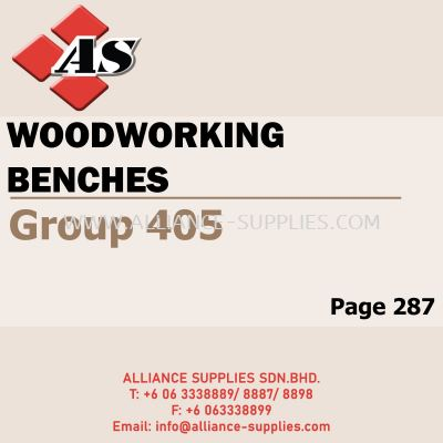 Woodworking Benches (Group 405)