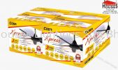 ALPHA COSA XPRESS WH BK-5B (54'') COSA Alpha Ceiling Fan Ceiling Fan