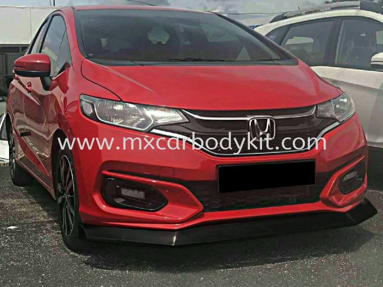 HONDA JAZZ 2017 SPOON FRONT LIP JAZZ 2017  HONDA