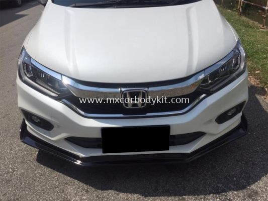 HONDA CITY 2017 SPORTIVO FRONT LIP