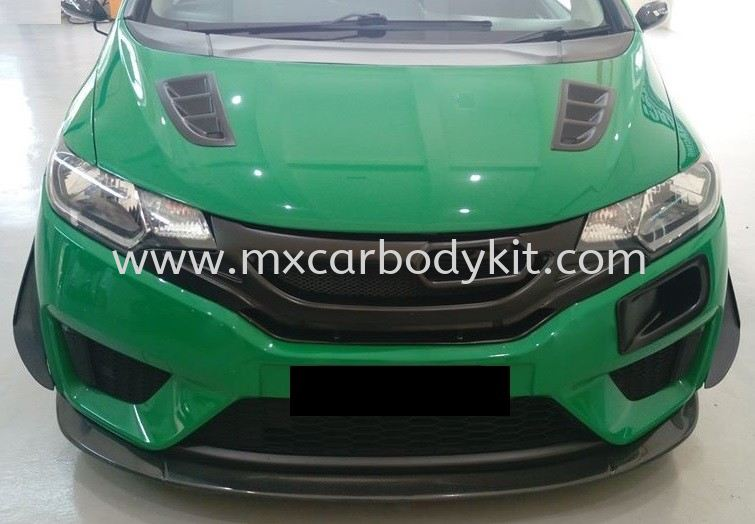 HONDA JAZZ 2014 - 2016 TAKERO V1 FRONT LIP JAZZ 2014 HONDA
