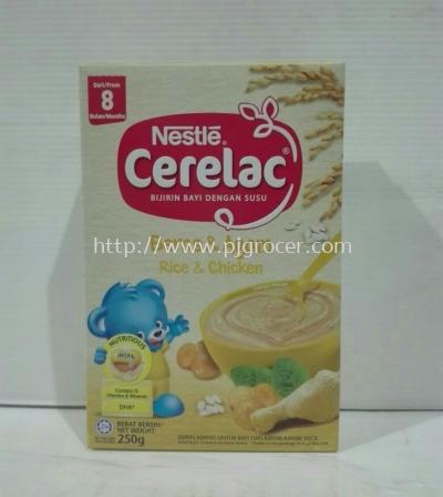 Nestle Cerelac Rice & Chicken 250g