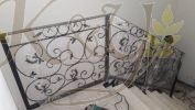 Wrought Iron Fencing Staircase