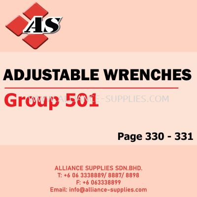 Adjustable Wrenches (Group 501)