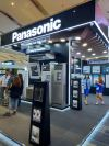 PANASONIC PUT UP A NICE AND BIG BOOTH AT THE HVAC/R EXHIBITION IN MANILA