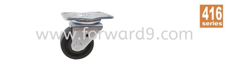 416 Series Top Plate Nylon Machine Castor Wheel  Business Machine Castor  Castors Wheel