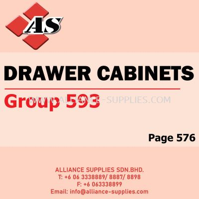 Drawer Cabinets (Group 593)