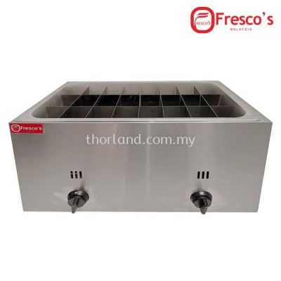 (A110) GAS ODEN 24 GRIDS SINGLE TANK