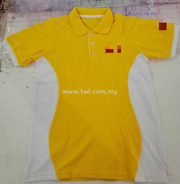 Customade  Polo HoneyComb Tee