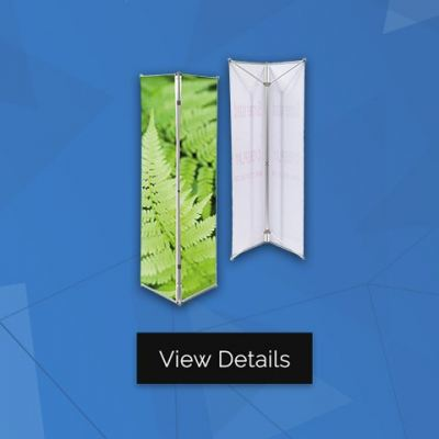 Triple Banner Stand