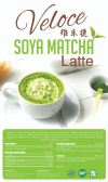 Organic SoyaMatcha Latte  Veloce Healthy Choice