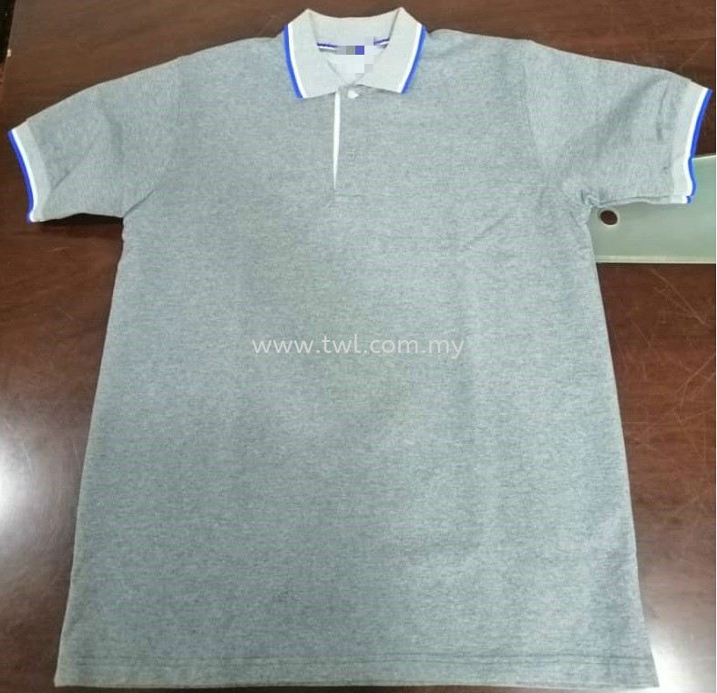 Customade Cotton T-will Collar Tee ( Male )
