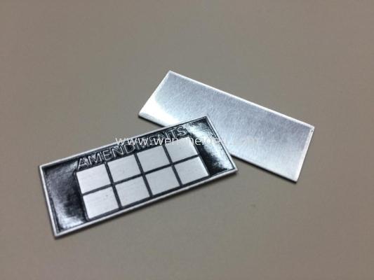 Aluminium Tag