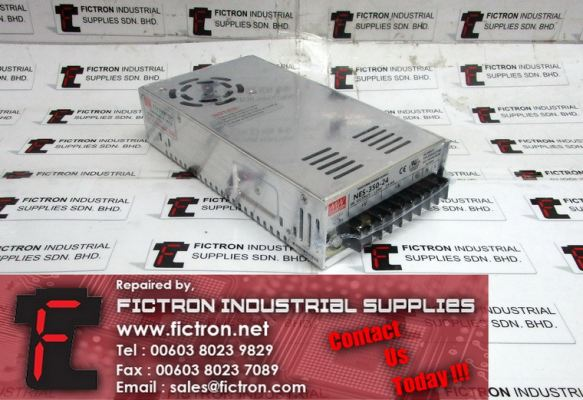NES-350-24 NES35024 MING WEIL Switching Power Supply Unit Supply Repair Malaysia Singapore Indonesia USA Thailand