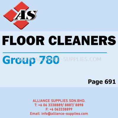 Floor Cleaners (Group 780)