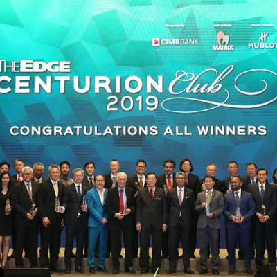 The Edge��s inaugural Centurion Club Awards honours mid-cap companies