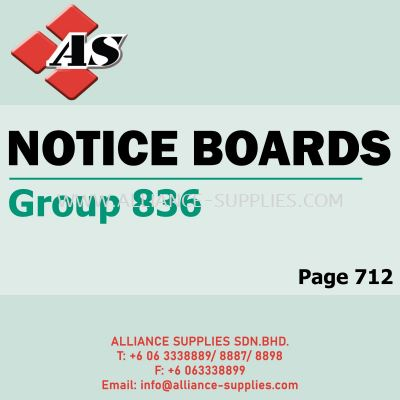 Notice Boards (Group 836)