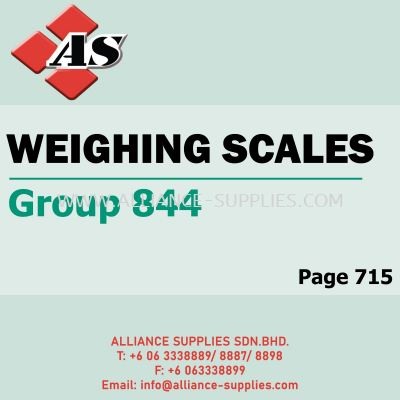 Weighing Scales (Group 844)