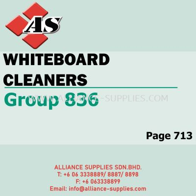 Whiteboard Cleaners - Tapes & Magnets (Group 836)