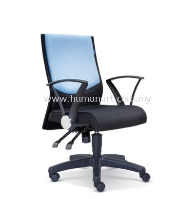 AMAXIM STANDARD LOW BACK CHAIR WITH POLYPROPYLENE BASE ASE 2583