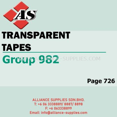 Transparent Tapes (Group 982)
