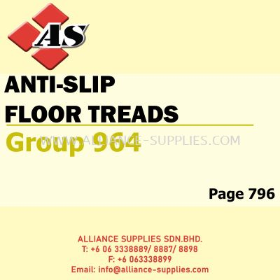 Anti-Slip Floor Treads (Group 964)