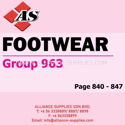 Footwear - Safety (Group 963)