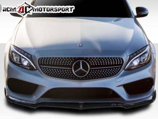 Mercedes Benz W205 front diffuser