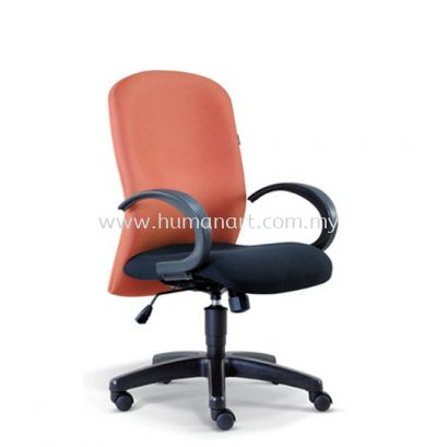 CONFI STANDARD LOW BACK FABRIC CHAIR WITH POLYPROPYLENE BASE ASE 2002 (B)