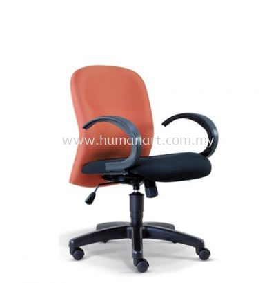 CONFI STANDARD MINI LOW BACK FABRIC CHAIR WITH POLYPROPYLENE BASE ASE 2003 (B)