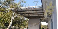 Mild Steel Metal Deck Pu Metal Awning