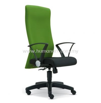 WAIN STANDARD HIGH BACK FABRIC CHAIR WITH POLYPROPYLENE BASE