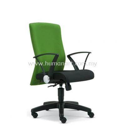 WAIN STANDARD LOW BACK FABRIC CHAIR WITH POLYPROPYLENE BASE