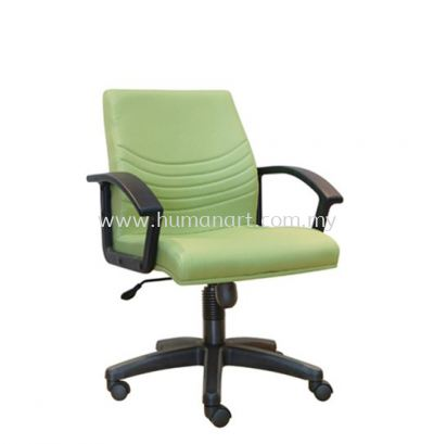 HOPE STANDARD LOW BACK FABRIC CHAIR WITH POLYPROPYLENE BASE ASE 7003