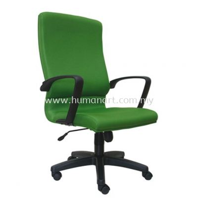 ECO STANDARD HIGH BACK FABRIC CHAIR WITH POLYPROPYLENE BASE ASE 221