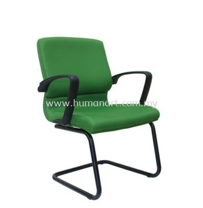 ECO STANDARD VISITOR FABRIC CHAIR WITH EPOXY BLACK CANTILEVER BASE ASE 224