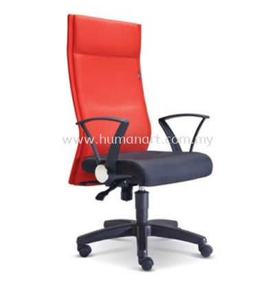 MAGINE STANDARD HIGH BACK FABRIC CHAIR WITH POLYPROPYLENE BASE