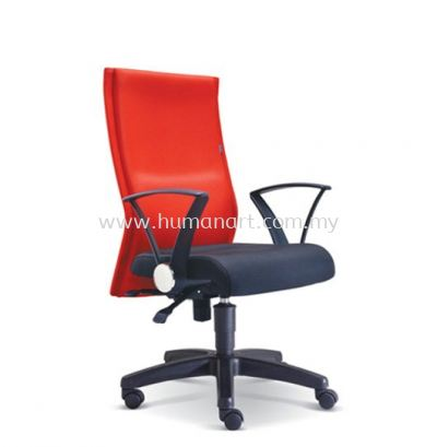 MAGINE STANDARD MEDIUM BACK FABRIC CHAIR WITH POLYPROPYLENE BASE