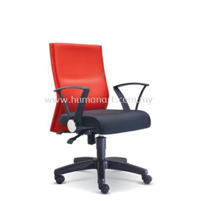 MAGINE STANDARD LOW BACK FABRIC CHAIR WITH POLYPROPYLENE BASE
